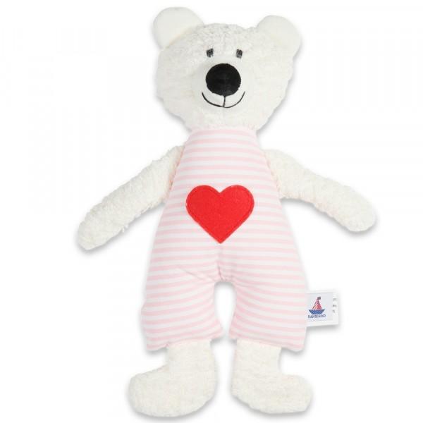 Kuscheltier Bär, rosa 28 cm