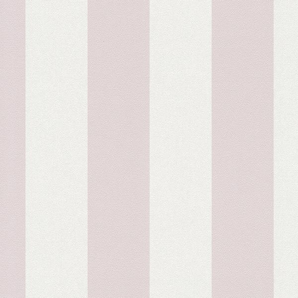 Streifentapete rosa, Vlies