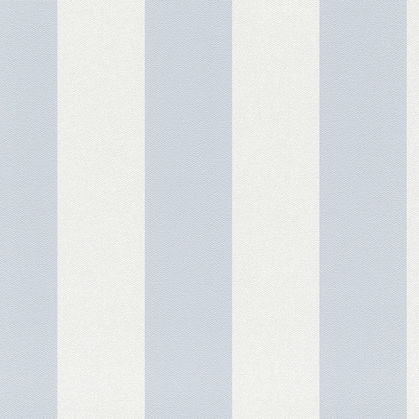 Streifentapete blau, Vlies