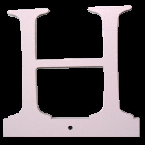 Buchstabe H - rosa