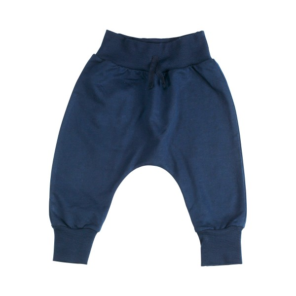 Baby Jersey Hose im Baggy Style, navy