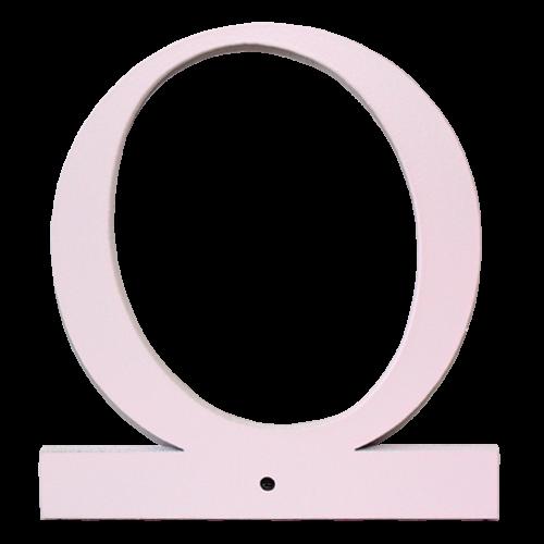 Buchstabe O - rosa