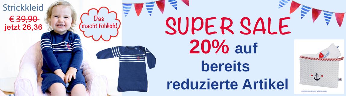 Rabatte und Sale in unserem Onlineshop Hansekind