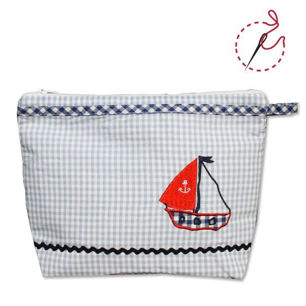 Kulturtasche Segelboot