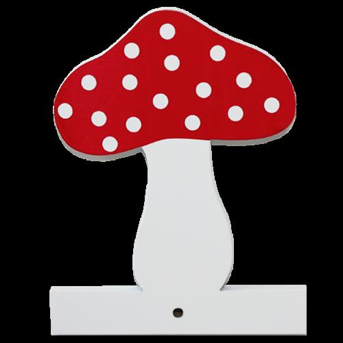 Motiv für die Kindergarderobe Pilz