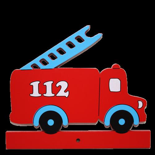 Motiv für die Kindergarderobe Feuerwehr
