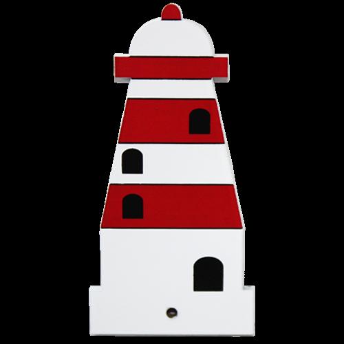 Motiv für die Kindergarderobe Leuchtturm