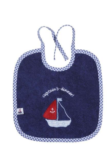 Lätzchen Captain`s Dinner navy