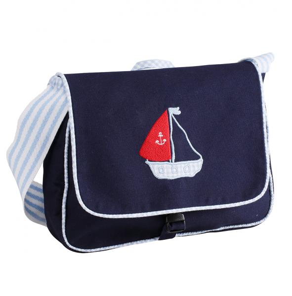 Kindergartentasche mit Segelschiff